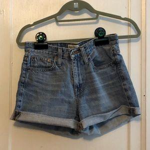J. Crew Classic Denim Shorts